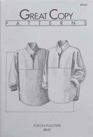 Great Copy 845 Yukon Pullover Sewing Pattern (Pattern Only)