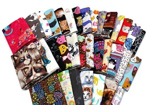 10 Fat Quarters - Cats Kittens Kitty Cat Pets Felines Animals Assorted Quality Quilters Cotton Fabrics M227.06