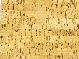 "5 yard roll - 27""  Natural Cork Fabric Linear Pattern Sold By the Roll (VLCN5)"