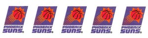 "1.5"" Wide Ribbon - Phoenix Suns NBA Pro Basketball Sports Team Satin Ribbons By the Yard M419.20"