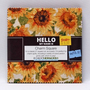 "5"" Charm Pack Squares - Shades of the Season Lynnea Washburn Fall Autumn Flowers Fabric Bundle Quilting Cotton Precuts (CHS-674-42) M518.02"