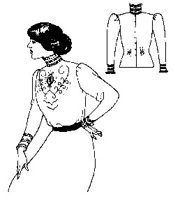Past Pattern Simple Edwardian Blouse Sewing Pattern