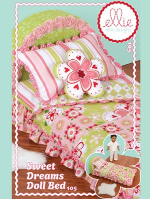 Kwik-Sew Pattern – Sweet Dreams Doll Bed