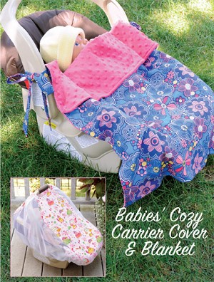 Kwik-Sew Pattern – Babies' Cozy Carrier Cover & Blanket