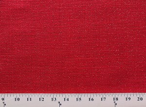 "Burlap 60"" Red Starbright Sparkle Gold Metallic Speckled Jute Burlap Fabric Sold by the Yard D775.01"