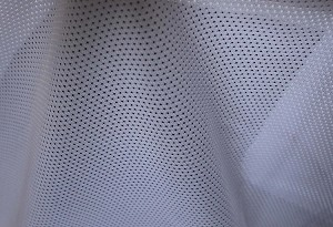 "Sport Mesh White Polyester Mesh Netting 58"" Wide Fabric by the Yard (6864T-4L)"