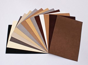 "Ultrasuede® ST (Soft) 6 Piece Variety Pack - Assorted 5""x 7"" Pre-cuts - Neutrals Natural Colors (U007.55)"