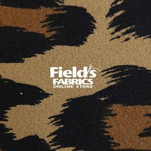 "Sold Out - Ultrasuede® LT (Light) Jungle Prints 58"" wide #113-154-58 Ocelot Fabric by the Yard"