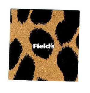 "Discontinued - Ultrasuede® LT (Light) Jungle Prints 45"" wide #177-231 Bobcat Print Brown/Blk Fabric by the Yard"